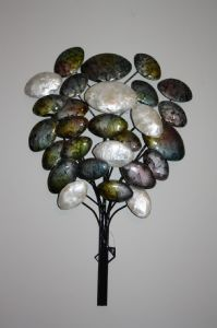 Metal Wall Art of a Bubble Tree  with free UK P&P!